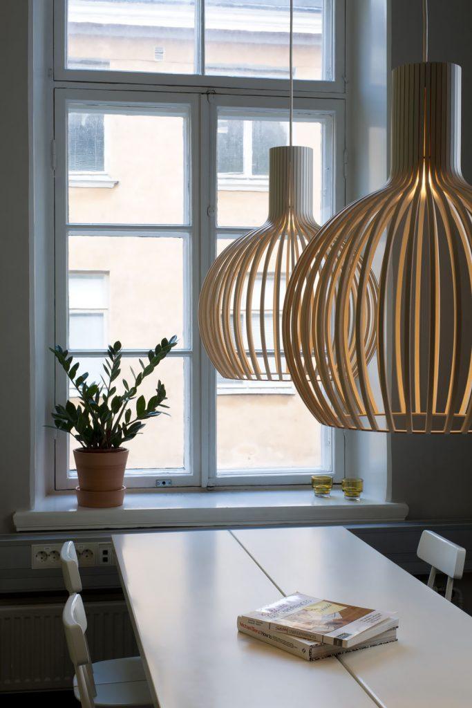 フィンランドの木製照明ーSECTOデザインー